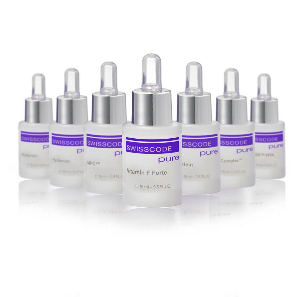 Swisscode Pure range - skincare