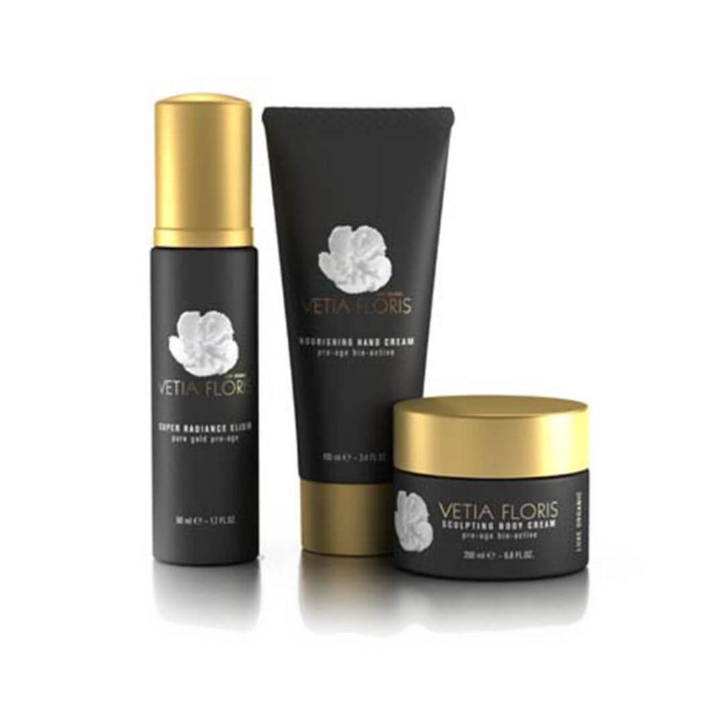 Vetia Floris range - luxury skincare