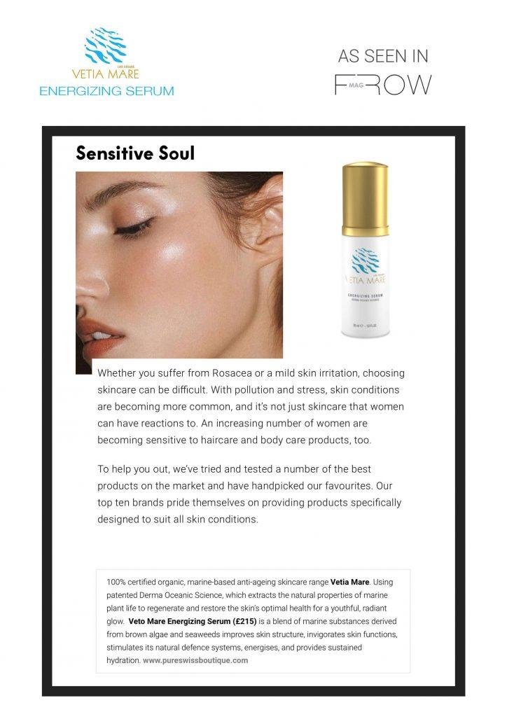 Frow Magazine - Vetia Mare Energizing Serum