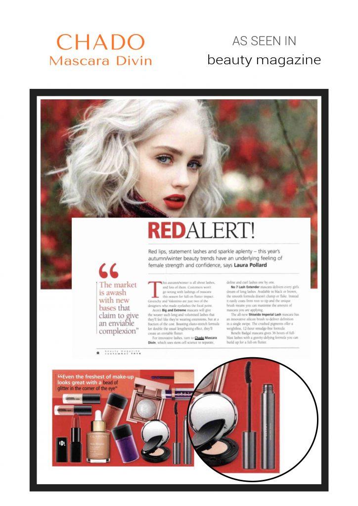 beauty magazine - Mascara divin CHADO