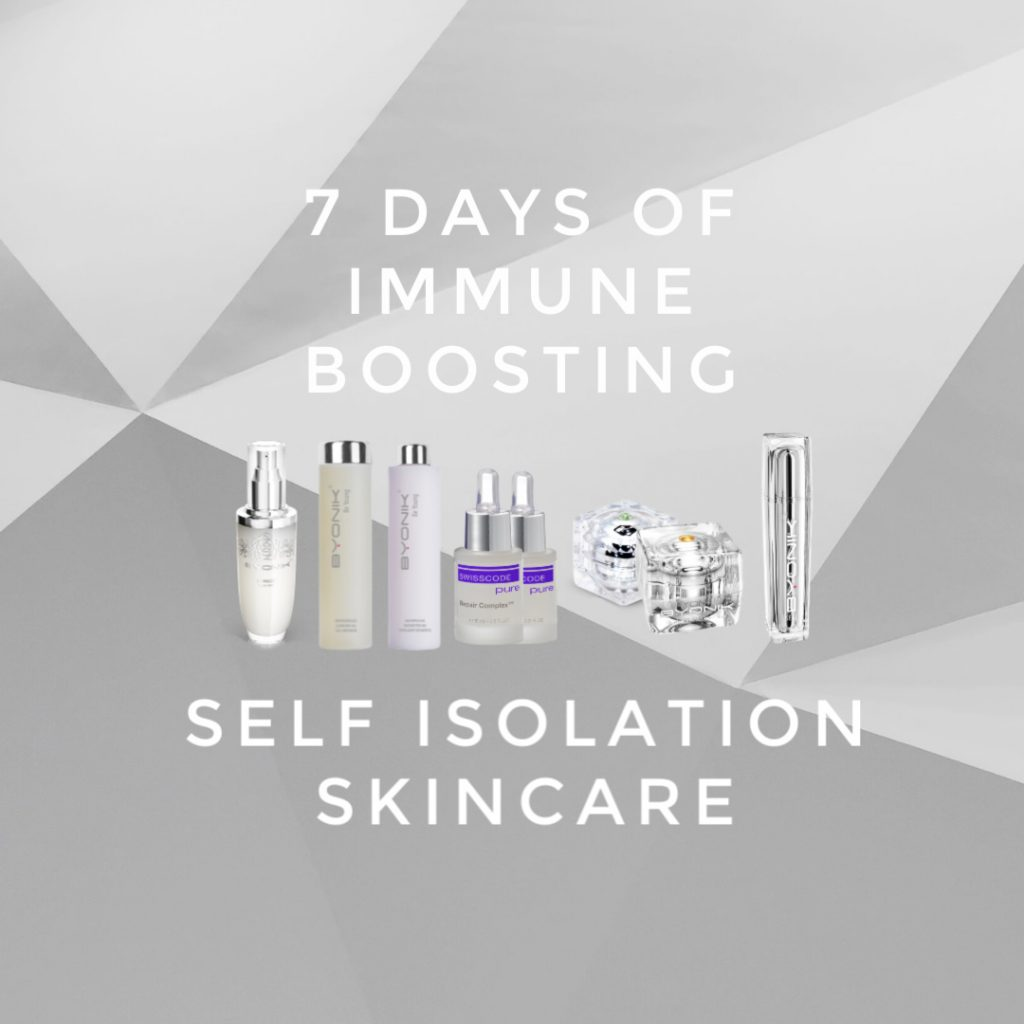 7 days of immune boosting self isolation skincare